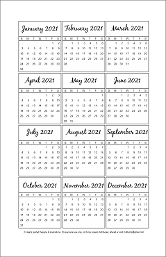 NEW for 2021 - 2021-2024 Yearly Planner Bundle - Classic (Half Size 8.5 x 5.5)
